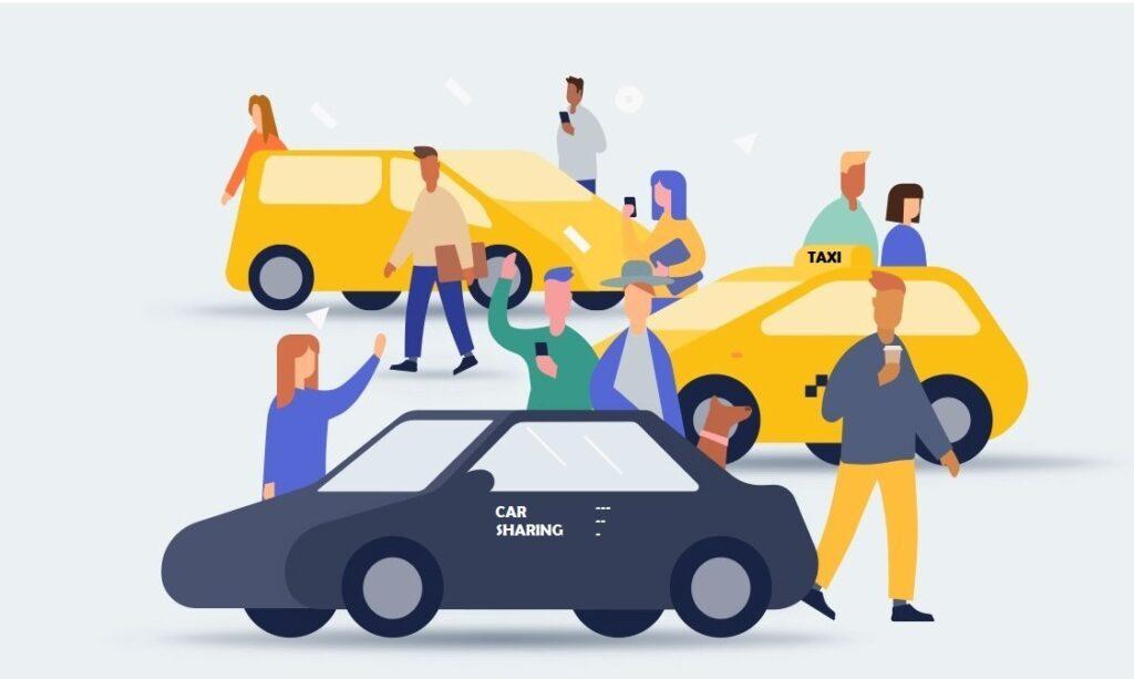 Сравнение такси и каршеринга