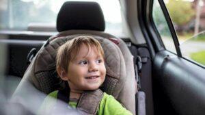 Важные правила перевозки детей в такси