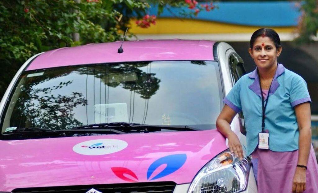 Полностью женское такси